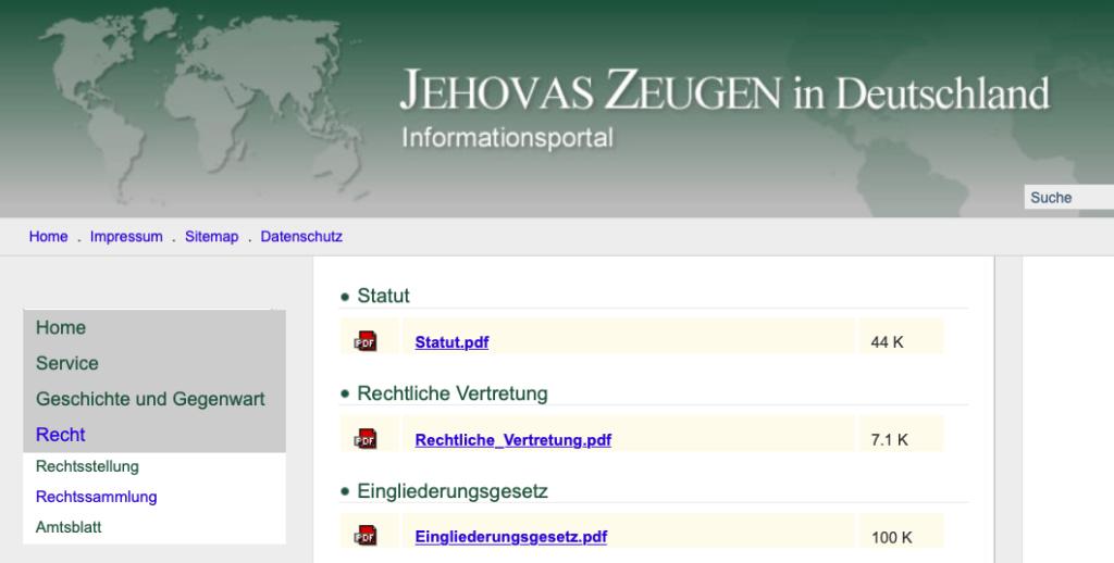 News 2020 Jehovas Zeugen - Organisatorische Veränderungen zur tieferen Babylonisierung Amtsblatt Selters Warwick JW.ORG